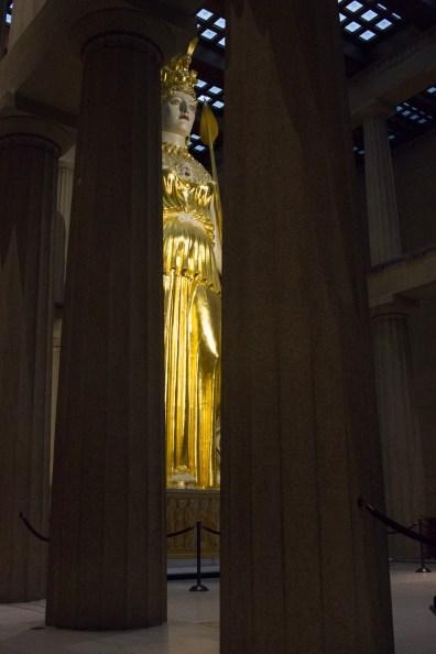 Athena in The Parthenon in Nashville