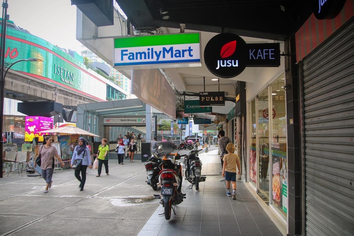 Out and about in Bukit Bintang exploring Kuala Lumpur with the kids.