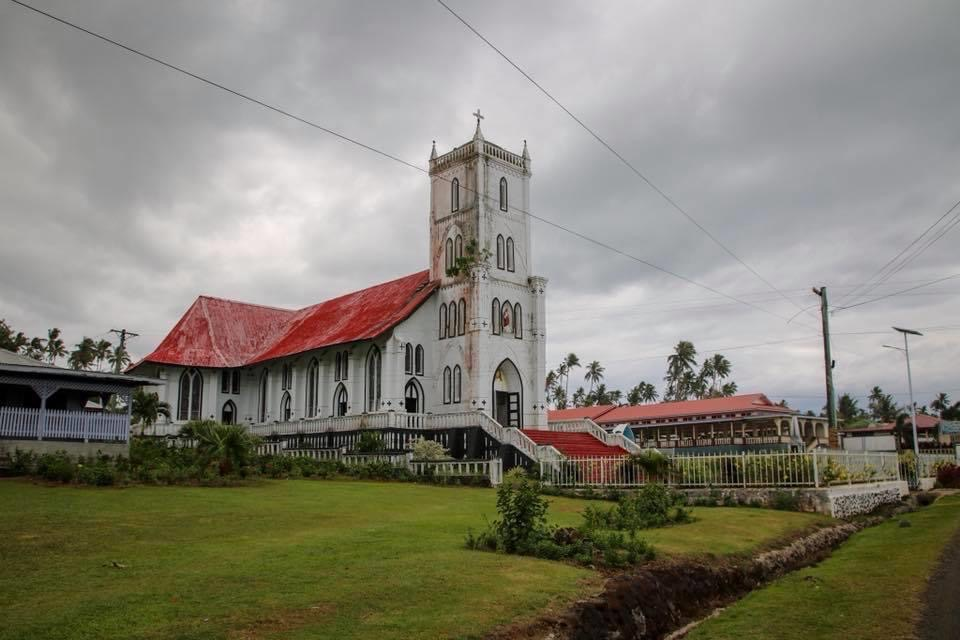 Beautiful churches make up some of the highlights of Samoa.