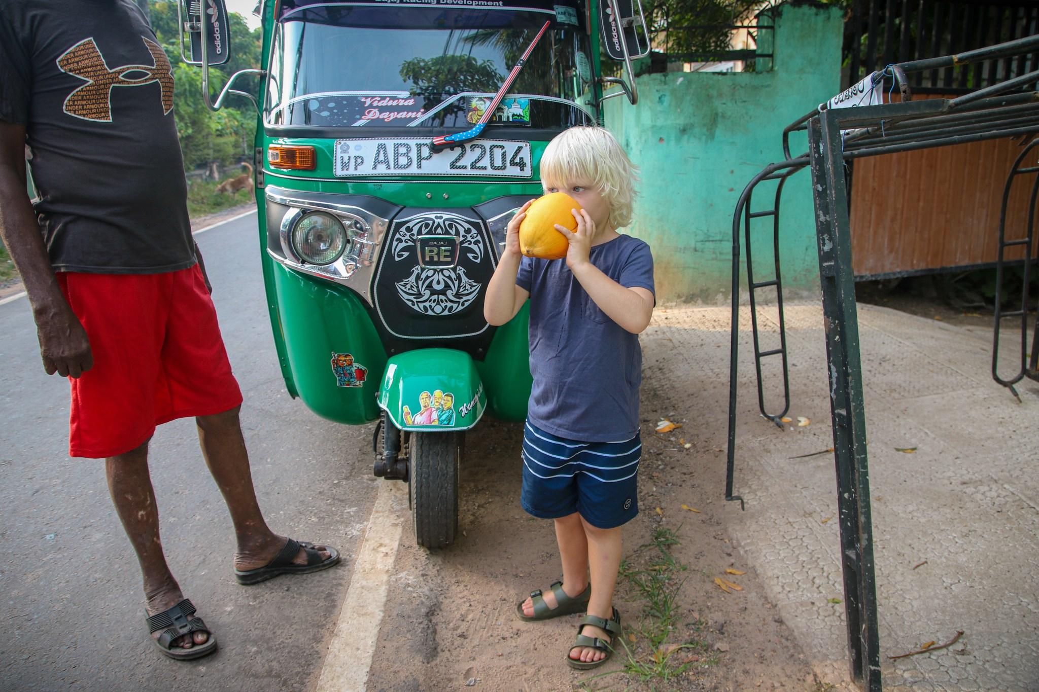 Sri Lanka with kids itinerary