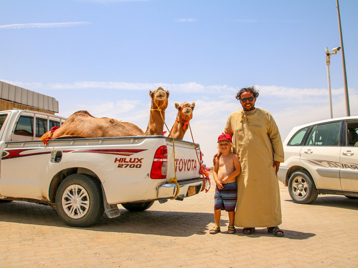 Oman with kids