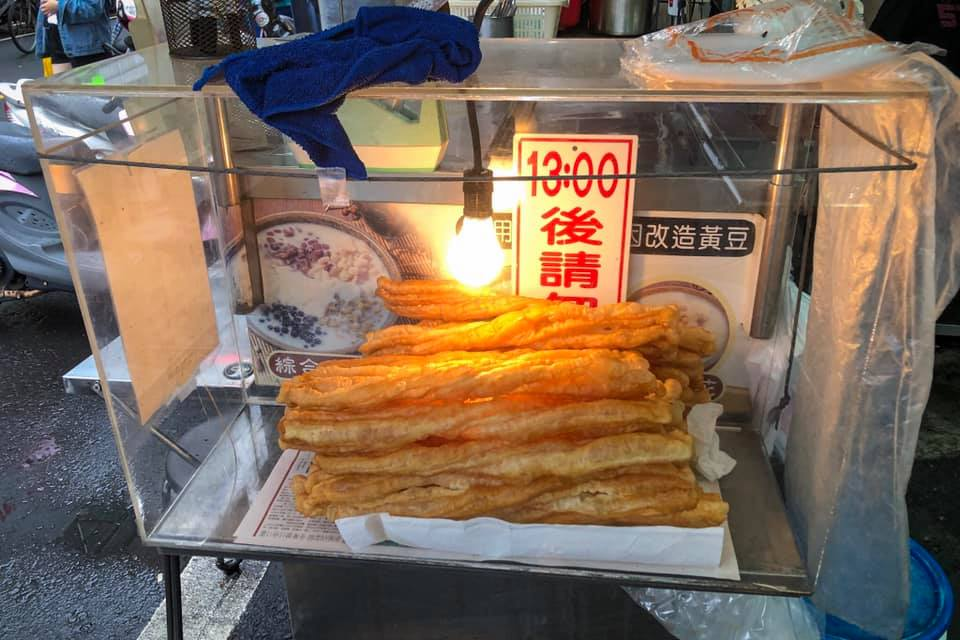 Youtiao - a Chinese soy bean snack like a long donut. Another snack to add to food in Beijing to try.