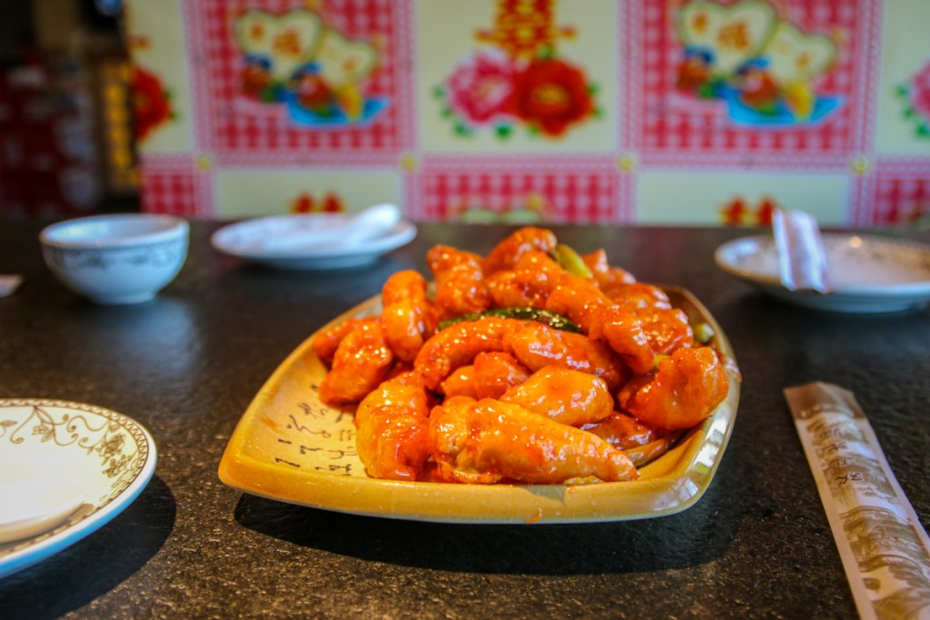 Gong Bao Chicken. Trying different food in Beijing.