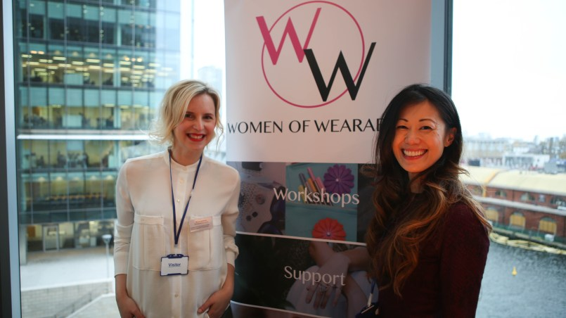 Marija and Michelle, founders of Women in Wearables