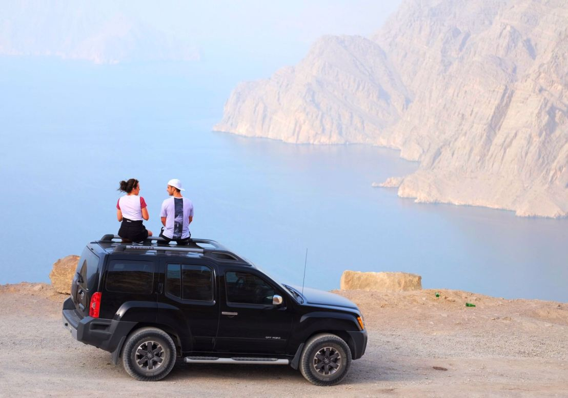 View from Khor Najd in Oman