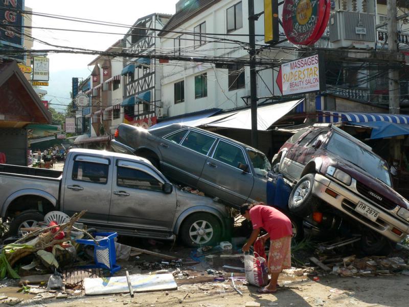 Цунами в Тайланде. Хронология событий, очевидцем которых я был