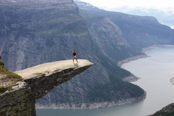 Язык Тролля в Норвегии