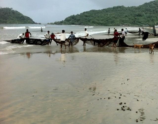 Пляж Палолем южное Гоа