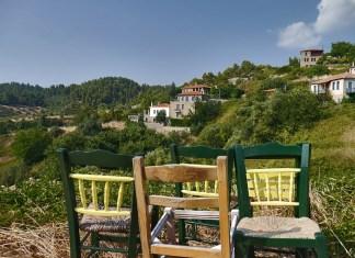 Парфенонас красивая деревня