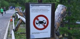 путешествия с дроном