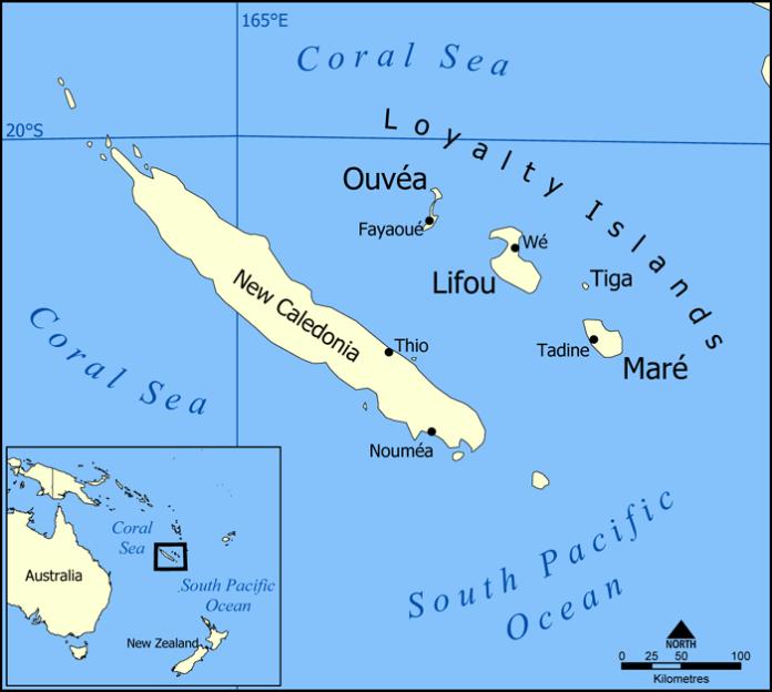 Новая Каледония самостоятельно