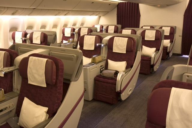 Бизнес класс Qatar Airways отзыв