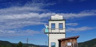 Доусон (Канада) город золотой лихорадки
