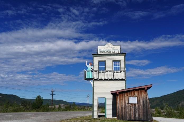 Dawson (Канада) на Клондайке
