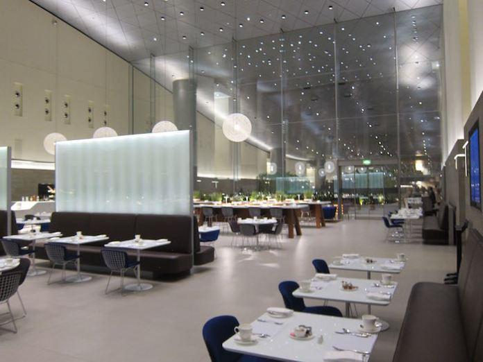 Al Mourjan бизнес лаунж в Дохе