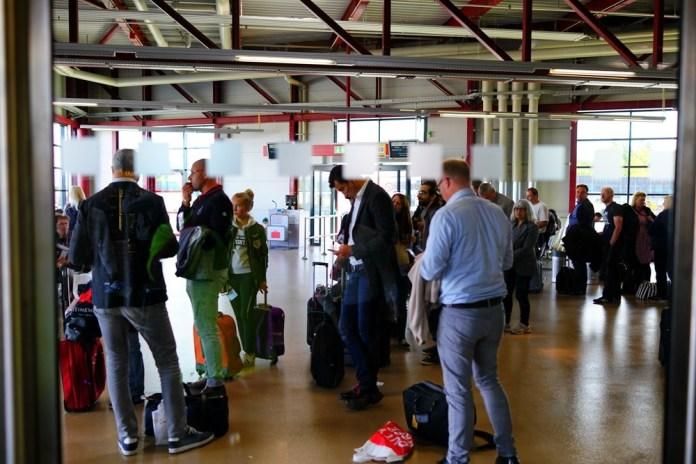 Аэропорт Берлина - Тегель. Отзыв