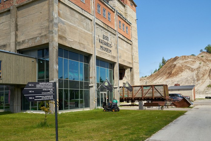 Музей шахты в Эстонии
