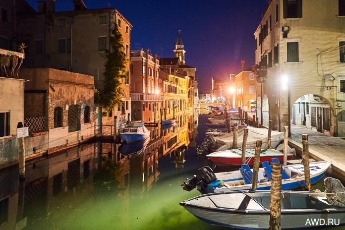 Кьоджа - маленькая Венеция