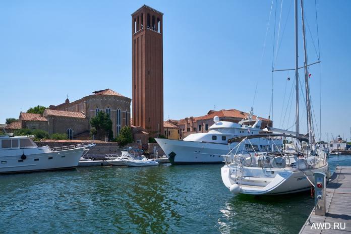 Венецианская лагуна на моторной яхте отзывые