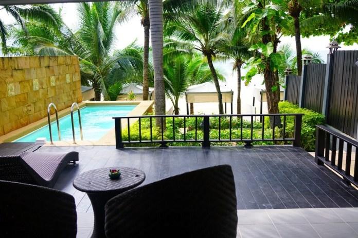 Отель с собственным пляжем на Пхукете