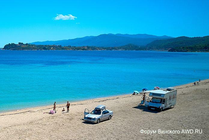Пляж Трани Амуда Ситония