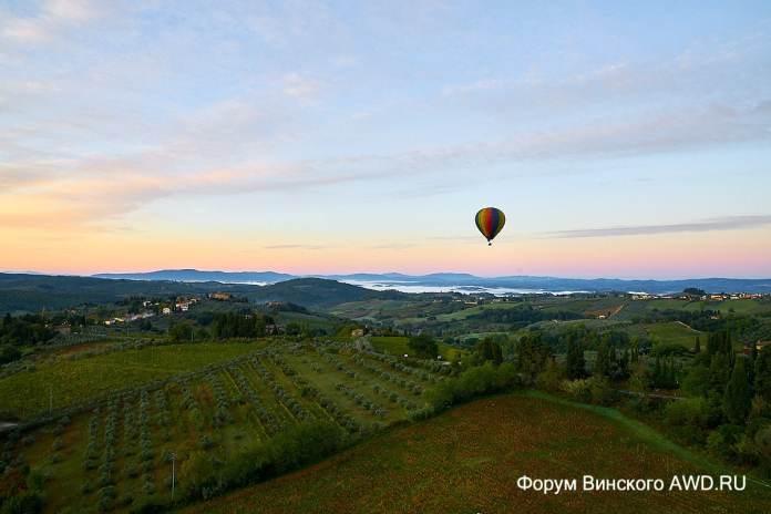 Полеты на воздушном шаре Италия