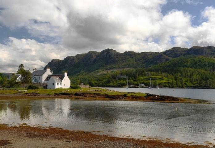Красивые острова Шотландии