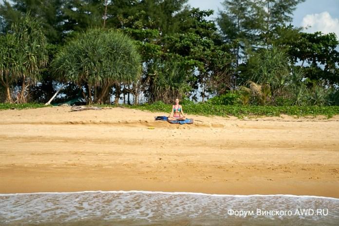 Пляж Най Янг Пхукет