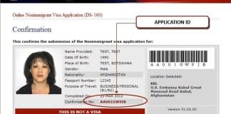 Как проверить статус визы в США