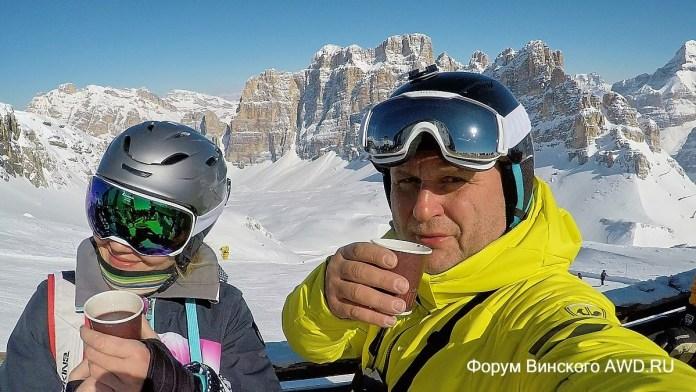 Alta Badia горные лыжи в марте