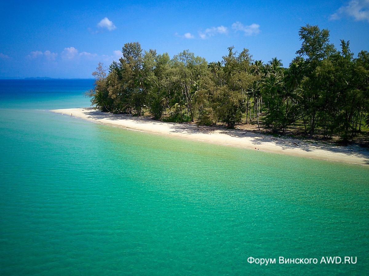 Ко Куд пляжи : обзор и фото