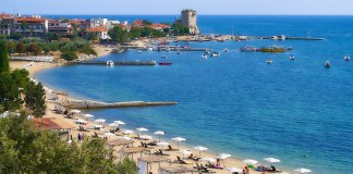 Афон Греция пляжи