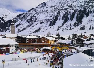 Открытие горнолыжного сезона в Альпах