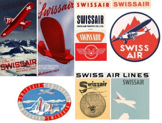 Логотип Swissair 1931