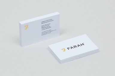 02-Farah-Branding-Stationery-Business-Cards-Post-BPO