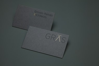 03-Groves-Raines-Architects-GRAS-Goild-Foiled-Business-Card-by-Graphical-House-on-BPO