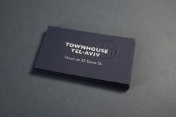 07-Townhouse-Tel-Aviv-Blue-Card-Business-Cards-Blind-Emboss-Koniak-on-BPO