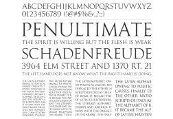 100 лучших бесплатных шрифтов 2014