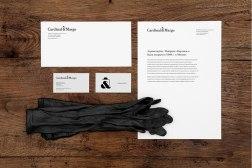 Фирменный стиль Cardinal&Margo, обновленной марки московской шляпной фабрики «Кардинал»