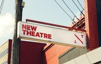 Фирменный стиль «Нового Театра» в Сиднее, созданный к его 80-летию.