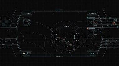 Интерфейс из фильма «Обливион»