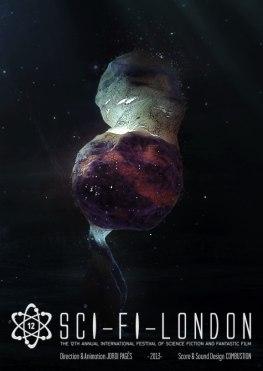 Анимационная заставка для лондонского Фестиваля Научной Фантастики 2013