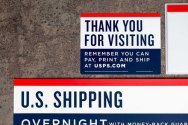 Обновленный фирменный стиль и навигация Почты США (USPS)