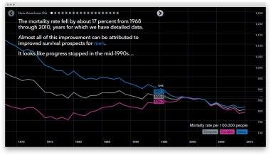 Большая интерактивная инфографика о смертности американцев