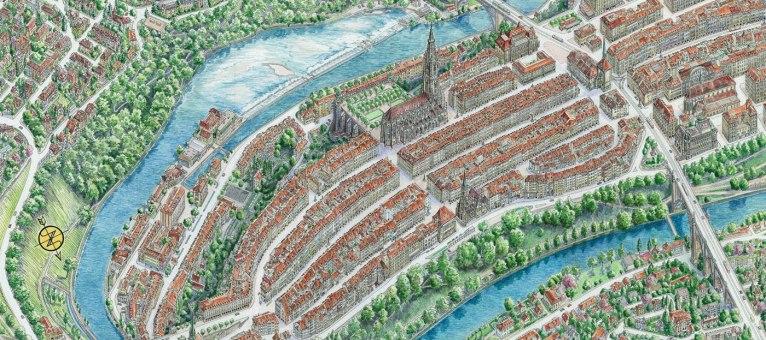 Невероятно детализированные работы художника и картографа из Минска Рубена Атояна
