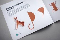 Фирменный стиль ветеринарной клиники Дружок