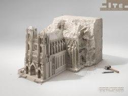 Реклама архитектурного музея в Париже