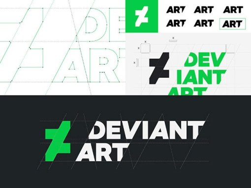 Девиантарт представил новый логотип и фирменный стиль