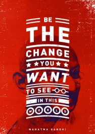 Постеры с цитатками нынче в моде. Мне понравились эти.