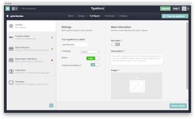 Тайпформ — отличный инструмент для создания форм